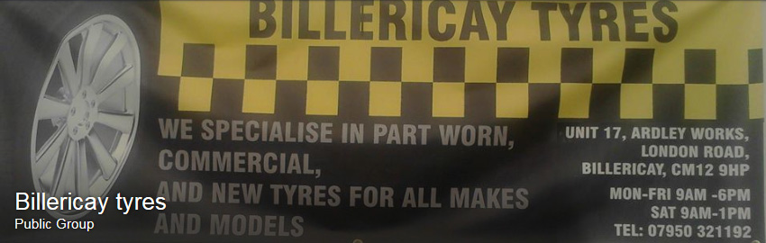 join billericay tyres facebook group